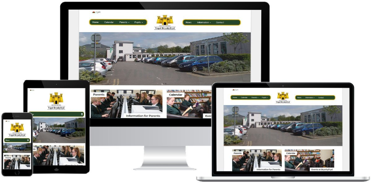 School web design in Ruthin by DoodleIT