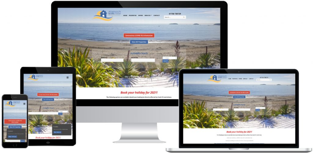 Websites for start up businesses in North Wales
