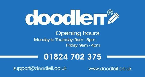 DoodleIT Opening Hours