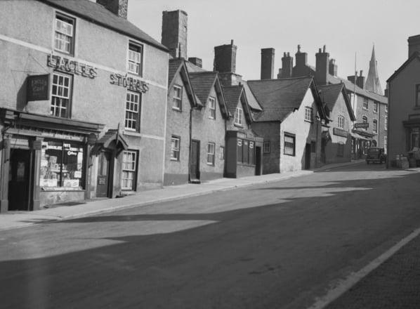 Clwyd street Ruthin